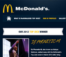 Mc Donald's Top Jock